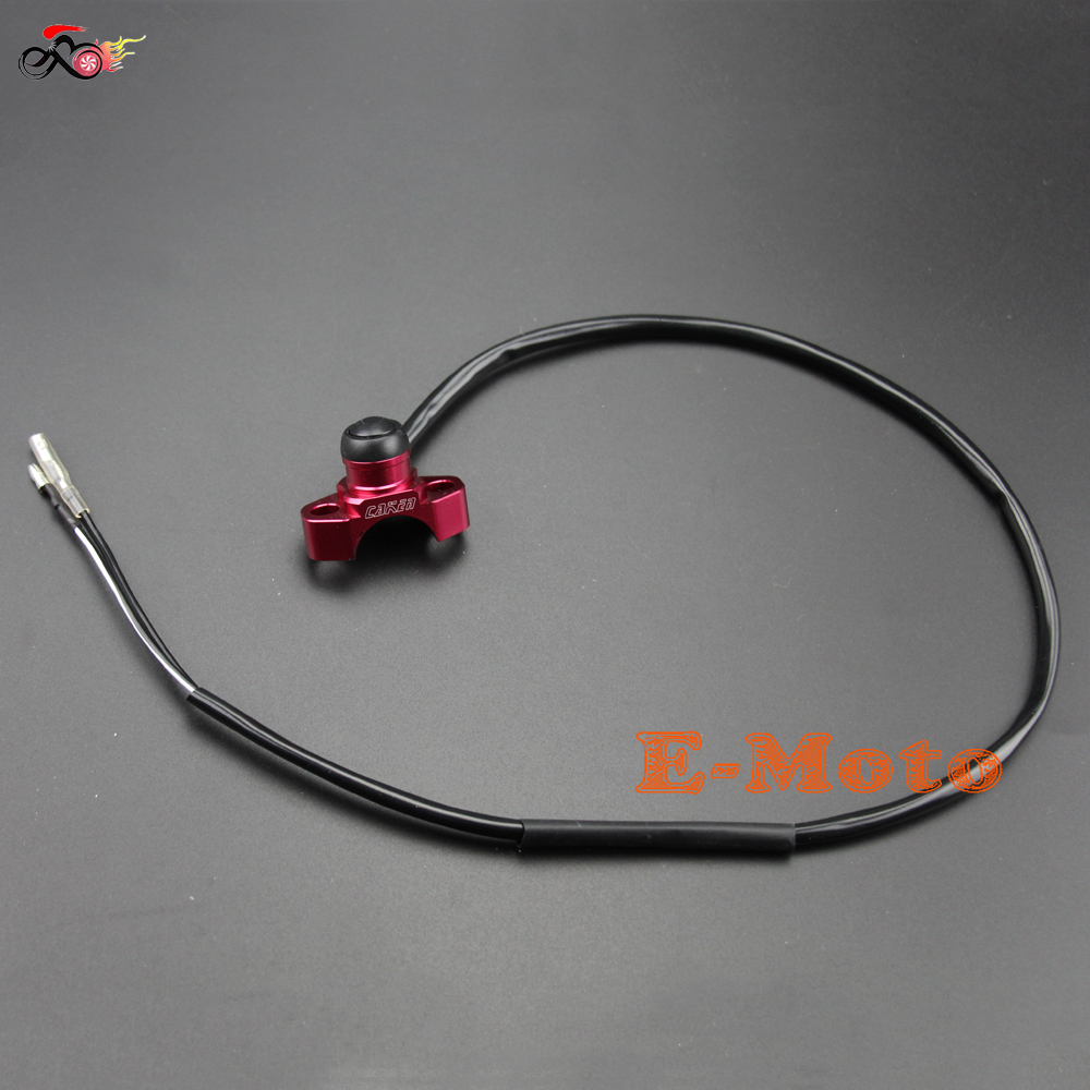Red Cnc Billet Engine Kill Start Stop Switch Buttom For Honda Xr250r Crf250x Wiring Harness Crf450x E Moto In Levers Ropes Cables From Automobiles Motorcycles On