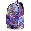 ThiKin Junior High Students School Bags Galaxy Star Leisure Rucksacks Travel Book Bag for Boys/Girls College School Bags