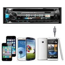 Nuevo coche de la llegada Audio estéreo en el tablero de FM reproductor de CD MP3 Player receptor entrada AUX USB SD 5249