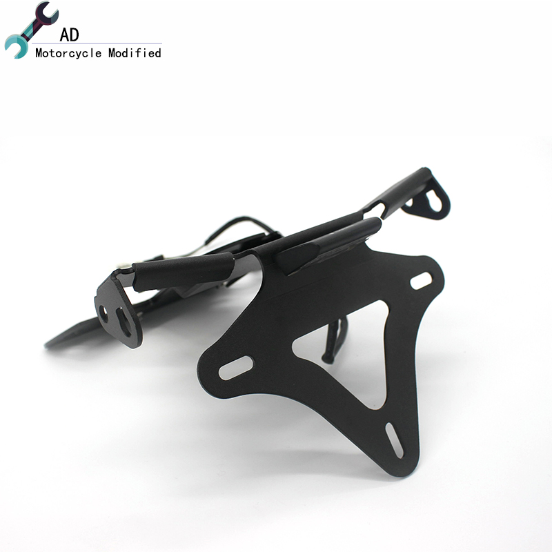 Motorcycle License Plate Holder Bracket for BMW S1000RR S1000R 2010 2017 2016 Tail Tidy LED Lights