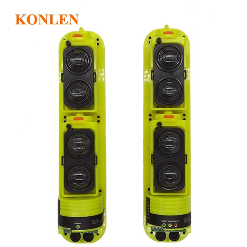 Konlen Outdoor Wired 4 Beam Infrared Perimeter Detector Wall Gate Defense Active IR Sensors 150 Meters