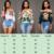 S-XL Del Hombro Camiseta de Las Mujeres Más El Tamaño Sexy Tee camisas 2017 Nuevo Verano Impresión de Tres Cuartos de Manga Blusas Sueltas camiseta