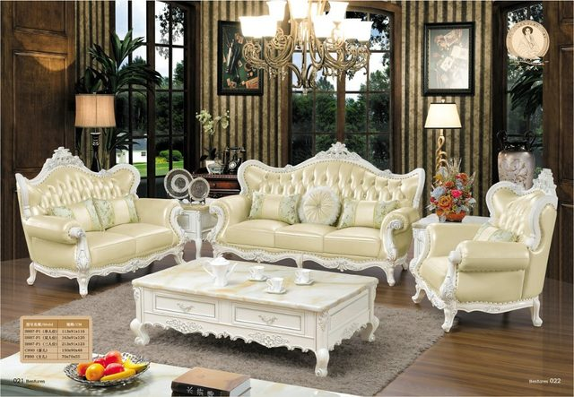 Armchair Beanbag Offer Direct Ing European Style Set Sofas Factory Bean Bag Chair Luxury French Baroque Living Room Sofa