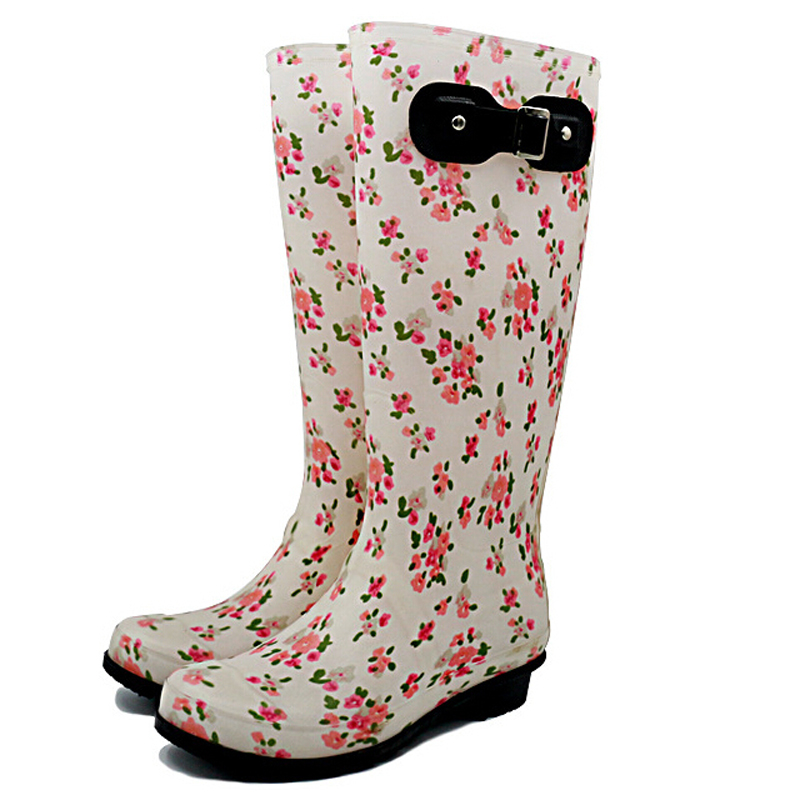 Womens Black Rain Boots