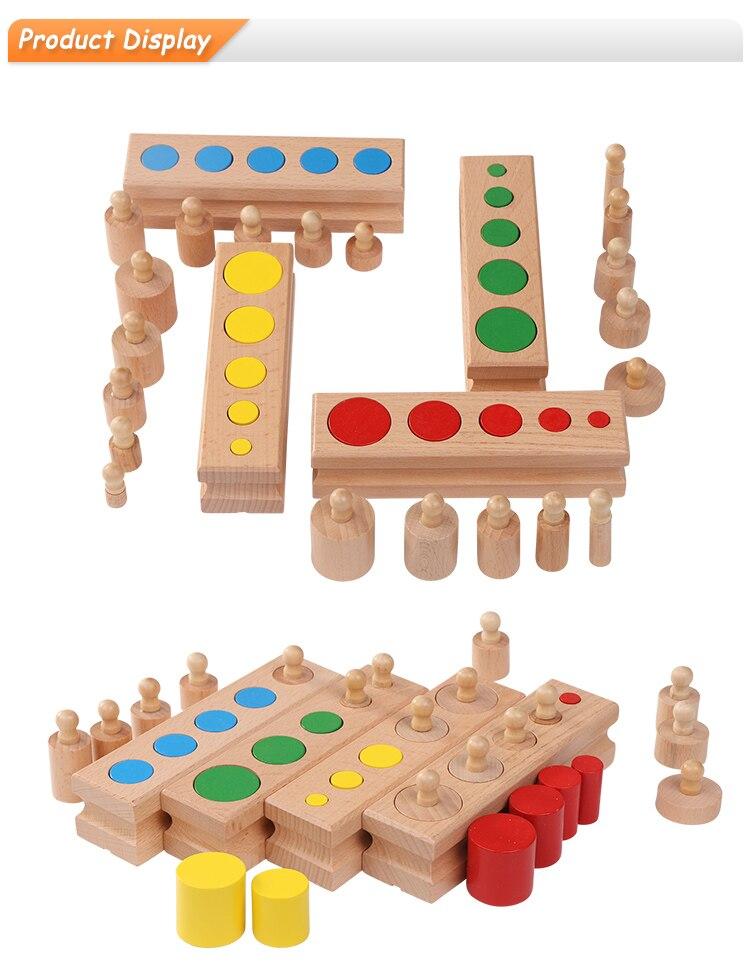 wooden montessori