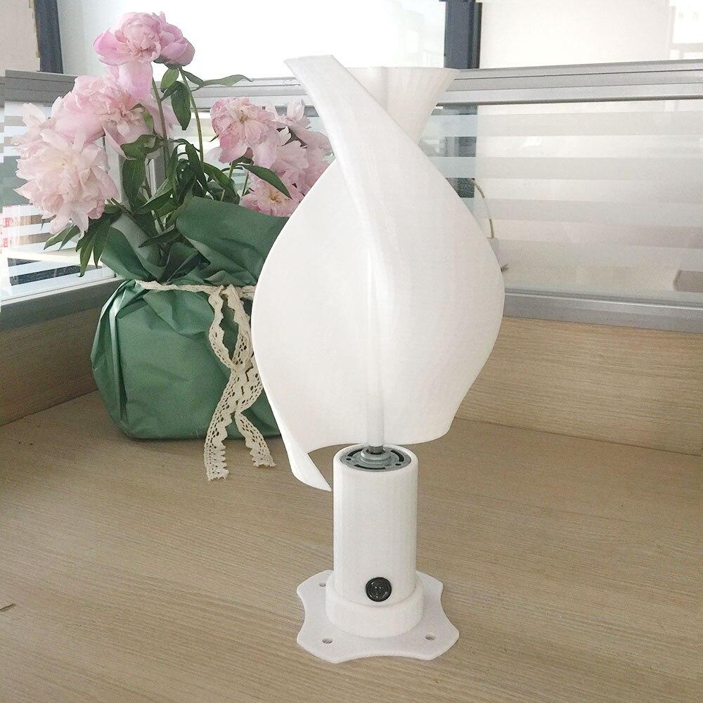 gerador de vento vertical com 2 lâminas
