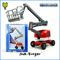 Mr.Froger Aerial Platform Truck alloy car model Refined metal Engineering Construction vehicles truck Decoration Classic Toys
