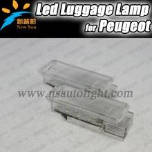 2015 НОВЫЙ автомобиль камера огни 307NEW ошибка бесплатный автомобильные светодиодные чтение свет для Peugeot, 308,406, 407,5008, 607,806, 807, RCZ, эксперт 3