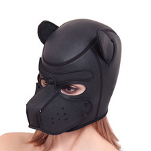 Newest Sex Games Comfortable Headgear Breathable Head Mask Bondage Soft Headhood Erotic Sex Toys For Her