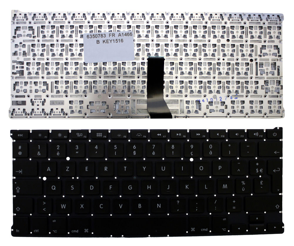 New Laptop keyboard for Apple MacBook Air A1466 FR/French layout  new laptop keyboard for apple macbook pro a1425 fr french layout