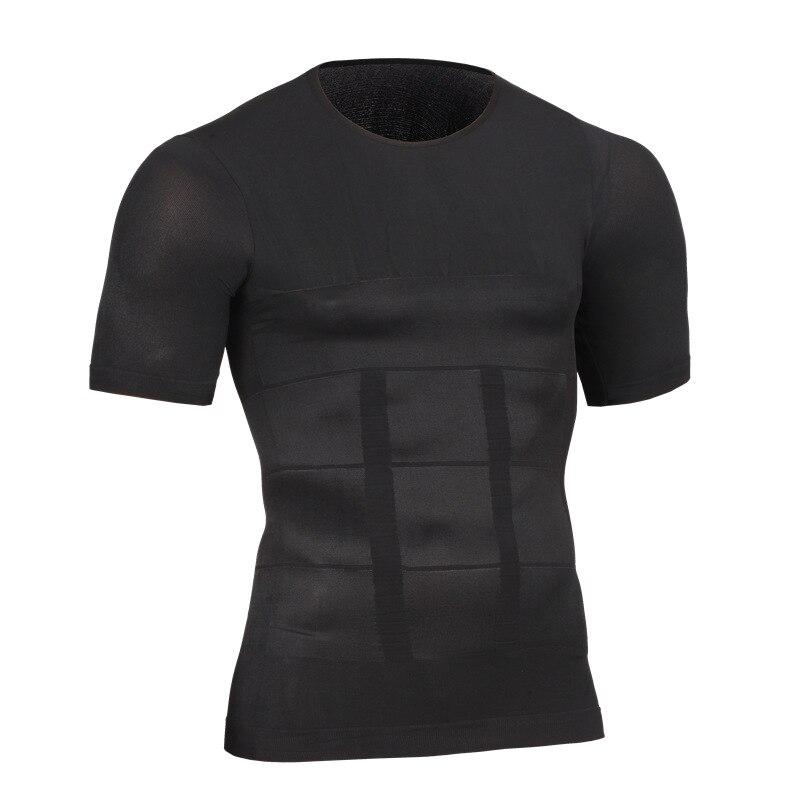 Verano nuevos hombres de la marca deportiva de manga corta hombres de la  camiseta del algodón que basa la camisa delgada color sólido tops fitness  corto ... 0a6075d20c7