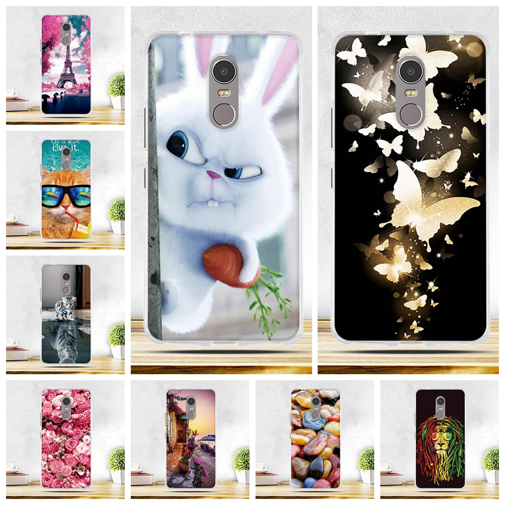 Cases For Lenovo K6 Note 5.5 K53 A48 K6Note K53A48 Case Soft TPU Silicone Phone Cover for Lenovo K6 Note k 6 note Bags Skin