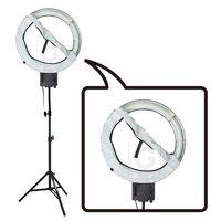 Studio 40 W 5400 K lampa pierścieniowa + miękki dyfuzor skarpety z 200 cm stojak Kit 110 V w Oświetlenie fotograficzne od Elektronika użytkowa na