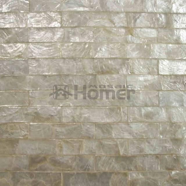 Online Luxury Golden Capiz Tiles Mesh Backing For Wall Decor Covering Powder Room Mosaic Tile Bathroom Shower Aliexpress Mobile