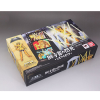 Original D.D.PANORAMATION/DDP Action Figure Saint Seiya Myth Cloth Leo Aioria Aiolia With the Scene Collectible Model