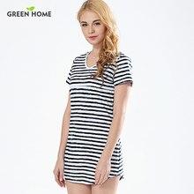 1c417f444 Casa verde playa del verano rayado vestido de enfermería Sexy vestidos de  maternidad ropa para el embarazo mujer corto vestido d.