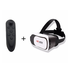VR Happy Blueray Magnet Control Google Cardboard Universal Headset Virtual Reality 3D Glass 4-6′ Smartphone+Bluetooth Controller
