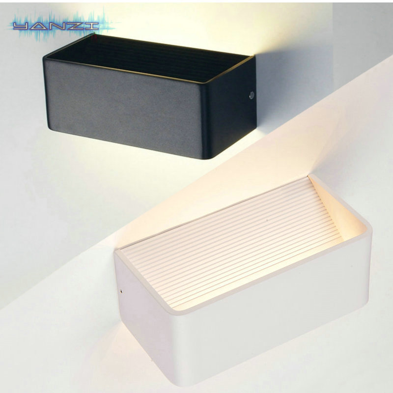 Surface Mount Wall Sconce 6W 20CM Warm White LED Wall Lamp Bedroom Bedside Lamp LED Light