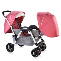 hot sell baby twins carriage Babyfond twins Baby stroller Can Sit Down And Fold Babys Face To Face trolley