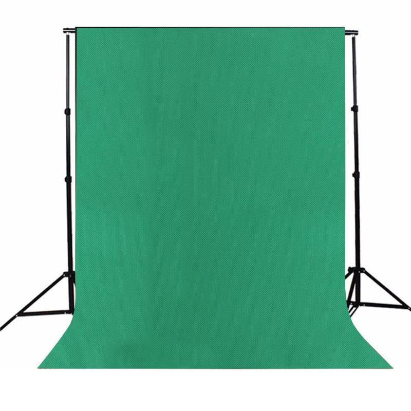 Photo Backgrounds Photographic Accessory Green Color Cotton Photo Backgrounds Studio Photography Screen Chromakey Backdrop Cloth 150x220cm thin vinly photography backdrop wallpaper wooden floor drop custom photo prop backdrop backgrounds l741
