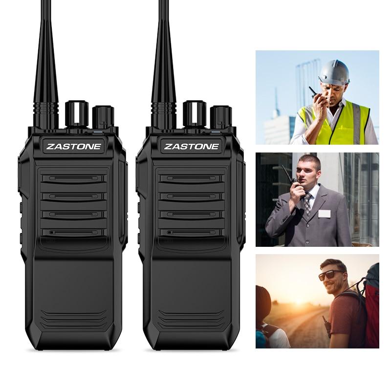 Zastone T3000 Walkie Talkie 6W UHF 400-480MHz Long Range High Power Radio Hunting Radio Communicator Portable Transceiver