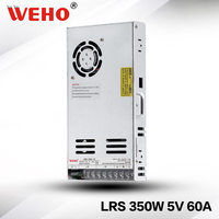 (LRS 350 5)WEHO factory outlet new design 30mm 350w 5v power supply
