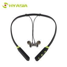 купить HYASIA Sweatproof Sports Bluetooth Earphone Magnetic Neckband Wireless Earphone Stereo headphone Bluetooth 4.1 Headset Earpiece онлайн