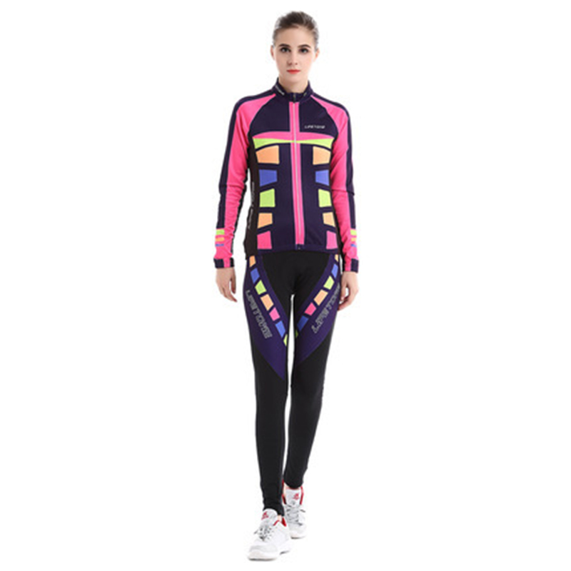 BATFOX Women Cycling Jersey Set