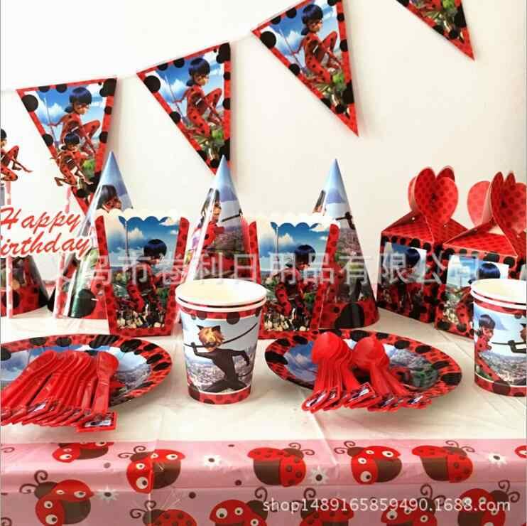 פרת משה רבנו חתול חד פעמי כלי שולחן סטי מפת כוסות נייר צלחת סכין מזלג כף מסיבת יום הולדת קישוט