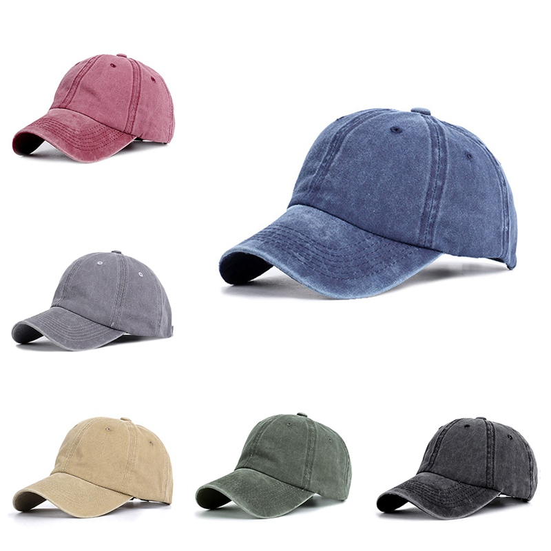 Adjustable Cotton Snapback Cap For Women