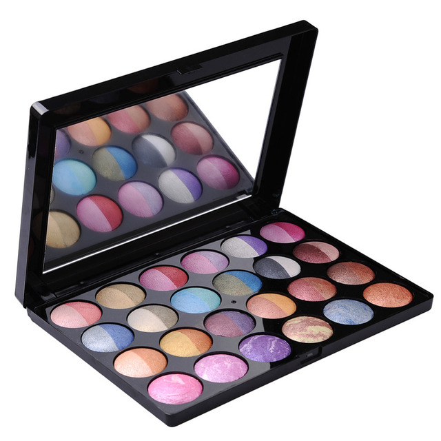 Mix Colors Shimmer Baked Eye Shadow Professional Makeup Eye Shadow Blusher Concealer Palette Make Up Beauty Sets/Kits Cosmetic