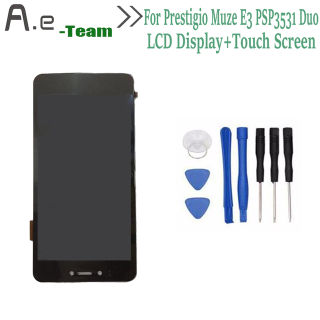 100% NEW For Prestigio Muze D3 psp3530 LCD Display+Touch Screen Digitizer Replacement For Prestigio Muze E3 PSP3531Duo PSP3531