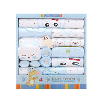 18pcs/set Spring and Summer Cotton Baby Clothes Newborn Clothes Set Gift Box Maternal and Child Supplies