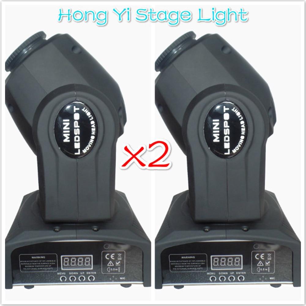 (2 pieces/lot) Eyourlife LED Inno Pocket Spot Mini Moving Head Light 10W DMX dj 8 gobos effect stage lights цены онлайн