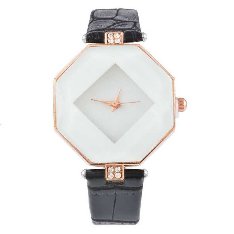 FUNIQUE Rhombus Woman Dress Fashion Casual Watches Crystal Quartz Watch Clock Ladies Female Wrist Watches Women Montre Femme funique fashion gold dial women leather watches casual tree pattern dress quartz wristwatch for girls clock hour montre femme