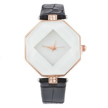 FUNIQUE Rhombus Woman Dress Fashion Casual Watches Crystal Quartz Watch Clock Ladies Female Wrist Watches Women Montre Femme