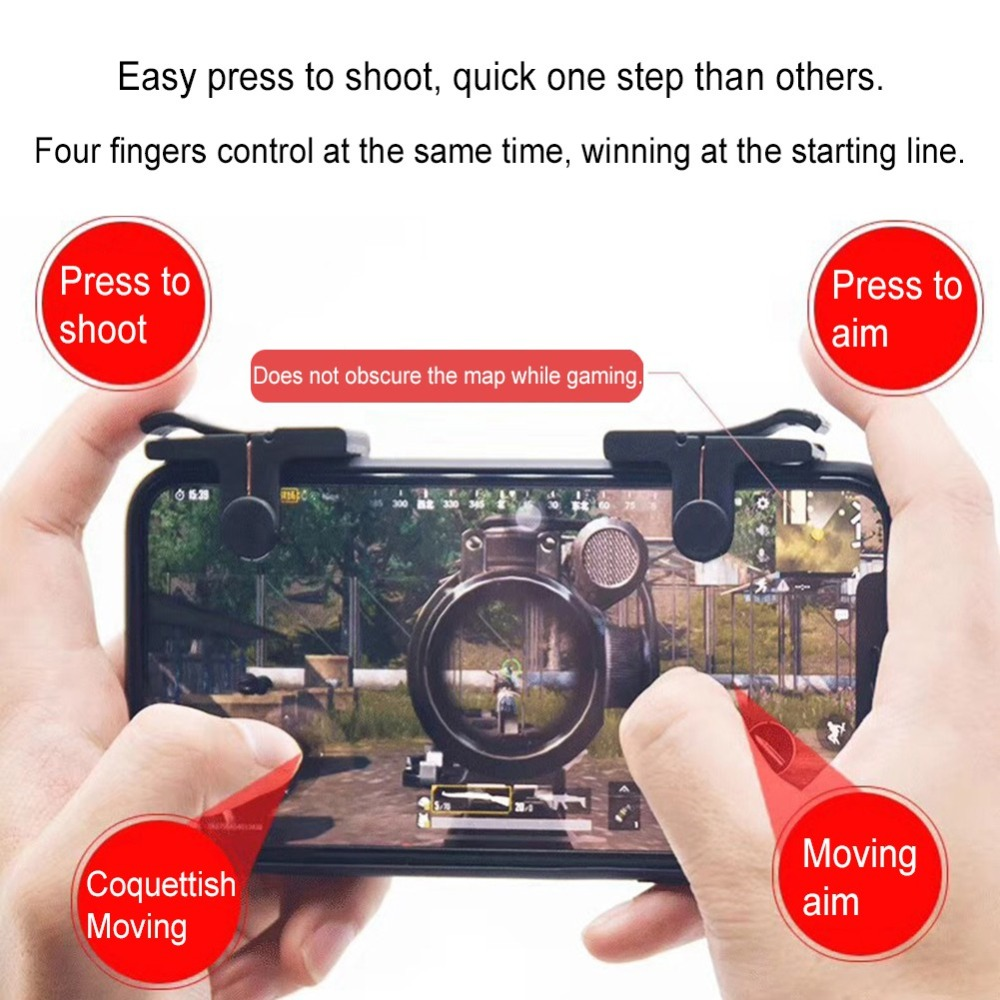 Phone game controller gamepad for pubg L1 R1 Shooter Game Mobile phone remote control