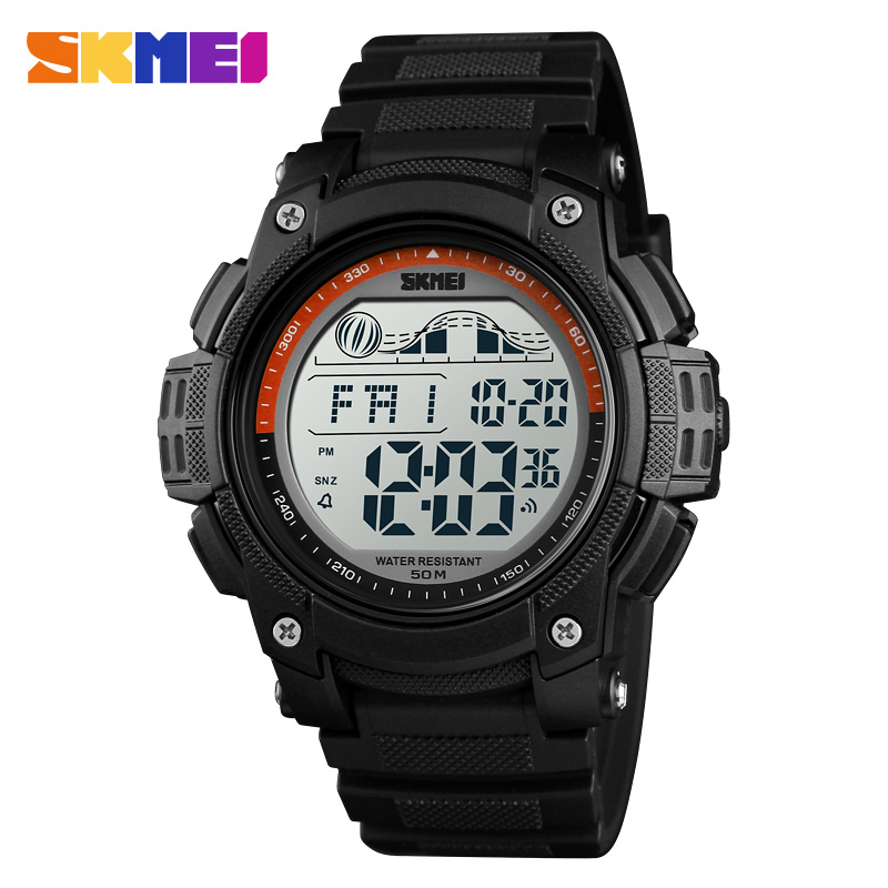 New Casual Sport Watch Men Luxury Brand <font><b>SKMEI</b></font> LED Waterproof Digital Watches For Men Boys Student Wristwatches Clock Relogio image