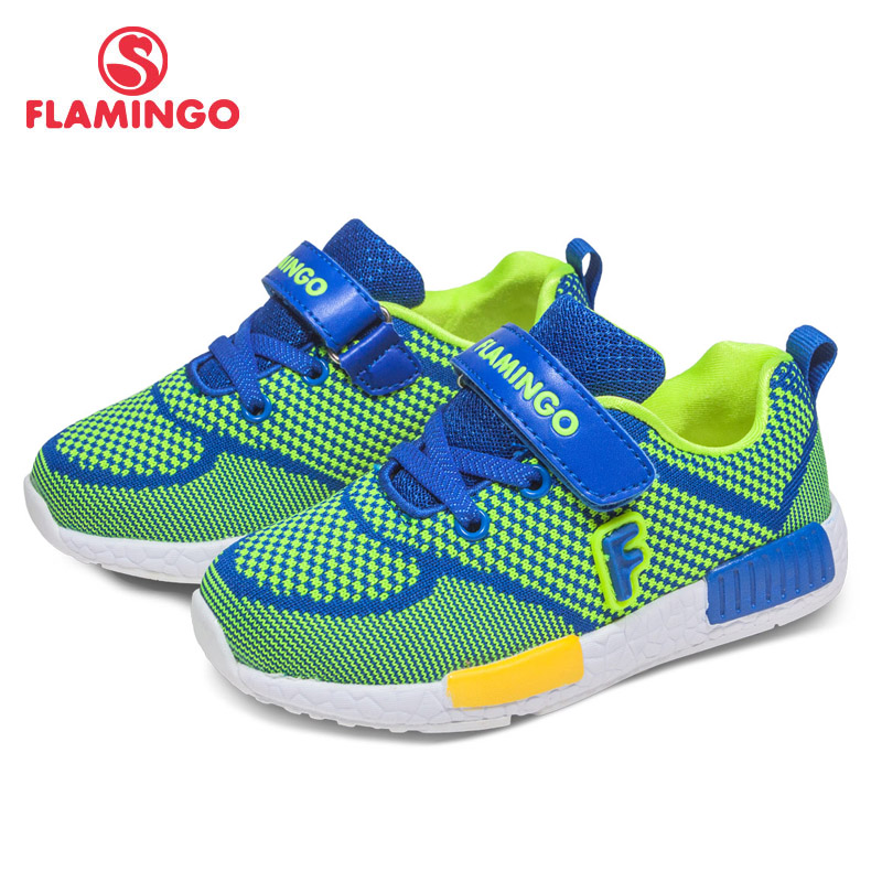 FLAMINGO Gingham Spring-Autumn Orthotic Arch Support Breathable TPR kids Size 25-31 Children Sport Shoes for Boy 71K-NQ-0023 миксер bosch mfq 4030s