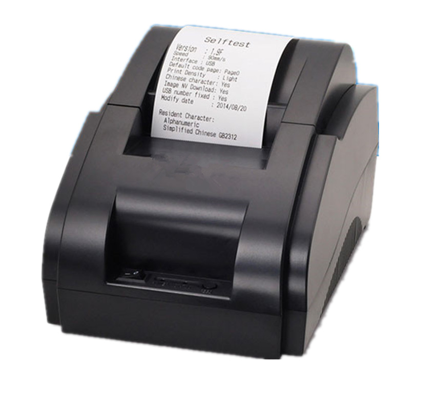 black and white wholesalhigh quality 58mm thermal printer receipt machine printing speed 90mm. Black Bedroom Furniture Sets. Home Design Ideas