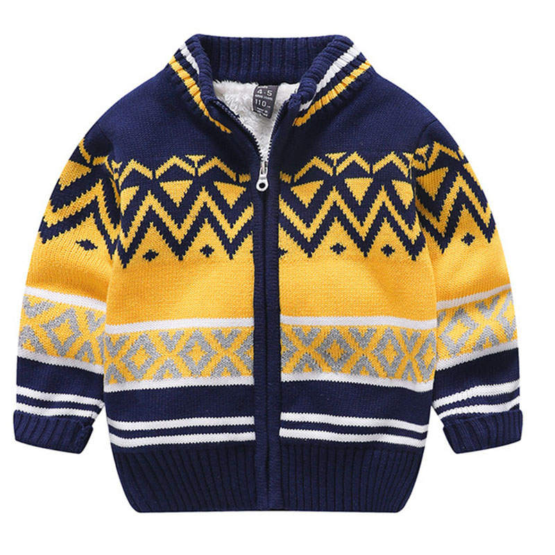 Winter Girls Clothes Thicken Plush Wool Single Breasted Solid England Style Casual Fashion Children 39 s Sweater in Hoodies amp Sweatshirts from Mother amp Kids