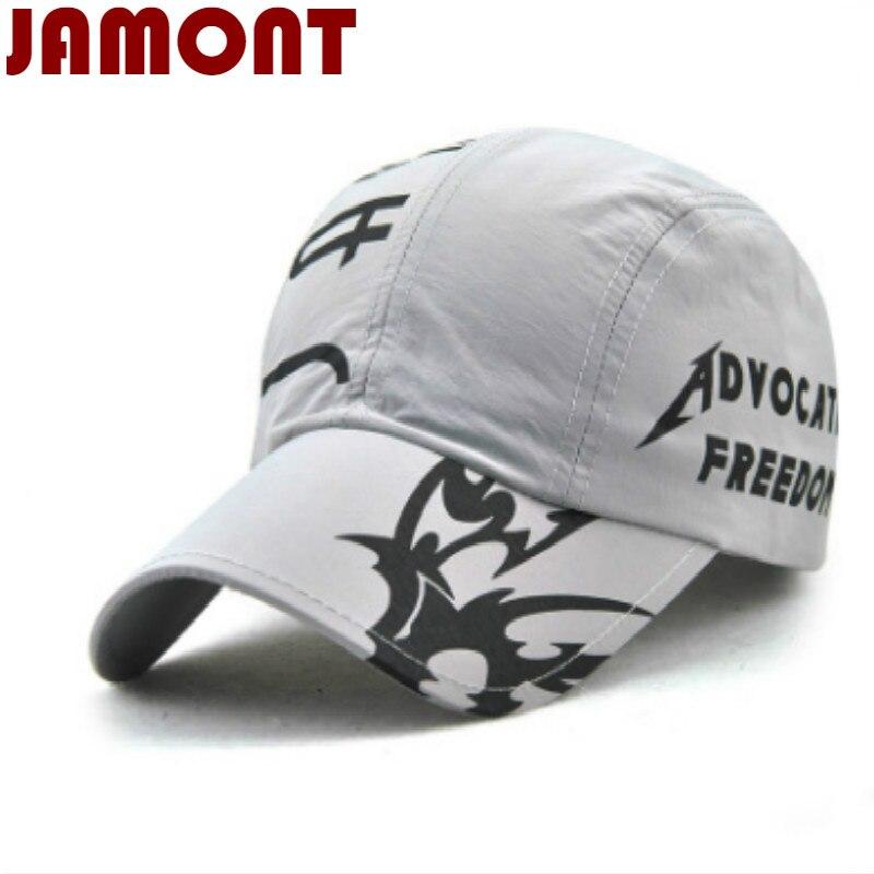 [Jamont] полиэстер лето бейсболка повседневная snapback шляпа солнца мужская мода trucker hat для женщин мужчин зонтик кости casquette