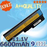 6600mAh 11.1v 9 cells Battery for LENOVO L08L6Y02 L08O6C02 L08S6C02 LO806D01 L08L6C02 L08N6Y02 G430 G450 G455A G530 G550 G555