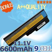 6600 мАч 9 ячеек Батареи для LENOVO L08O6C02 L08S6C02 LO806D01 L08L6C02 L08L6Y02 L08N6Y02 G430 G450 G455A G530 G550 G555