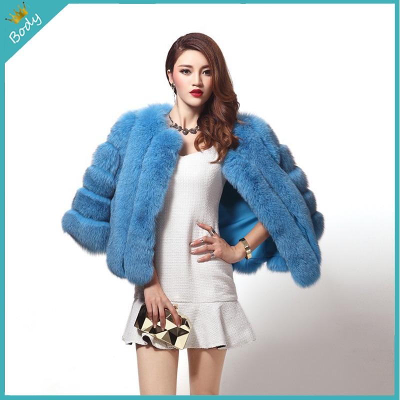 New Arrival 2015 Winter Coat font b Women b font Fox Fur font b Jacket b