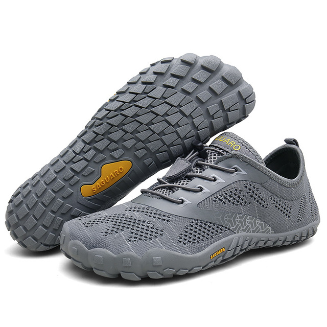 Azooken Summer Water Shoes Aqua Shoes Men Women Outdoor Quick Dry Barefoot Toe Shoes for Surfing Yoga Exercise Beach Swim Hiking