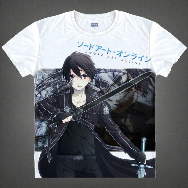 Alfheim Online ALO T Shirt Sinon Shirt Cute mens T Shirts Anime ...