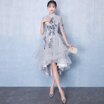 Chinese Women Improved Qipao Traditional Handmade Button Cheongsam Classic Bridesmaid Wedding Dress Casual Vintage Vestidos - DISCOUNT ITEM  38% OFF All Category