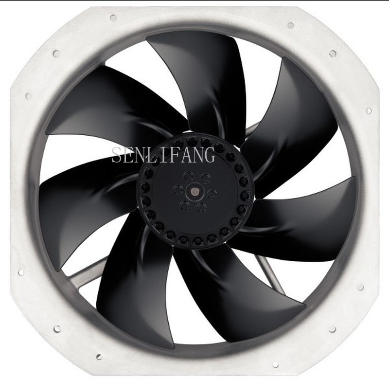 Free Shipping  Brand German W2E250-HJ52-06 Ebmpapst 230V 135W Axial Fan 28080 230V Full Metal High Temperature Resistant Fan