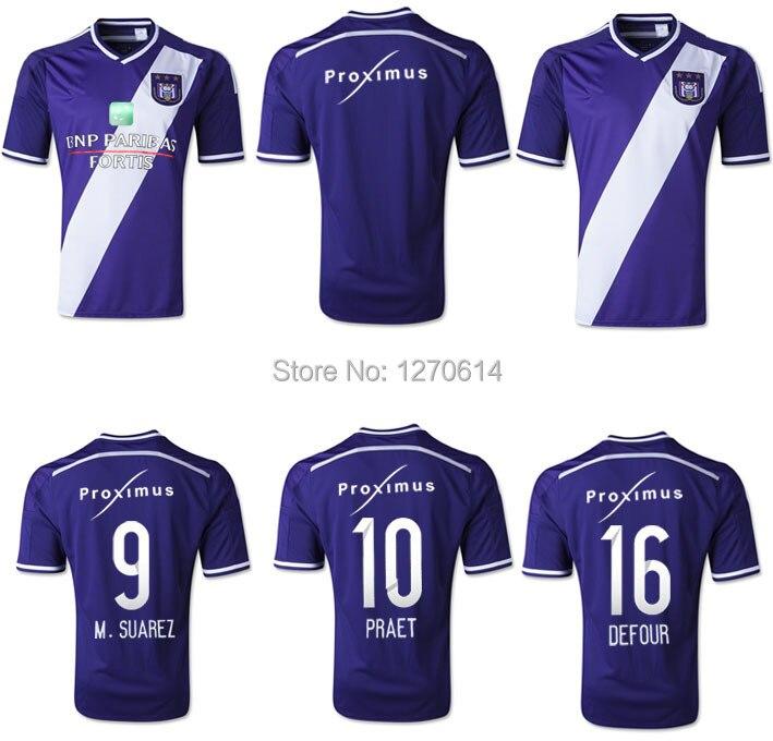 new concept bf8bb 24790 Ander Best Thailand Pro League Soccer Jersey Anderlecht 2015 ...